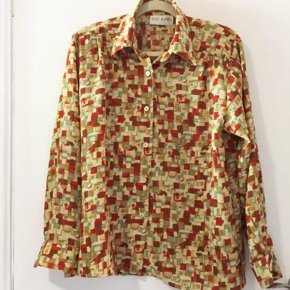 50% OFF Vintage ~90s Gigi Jones blouse